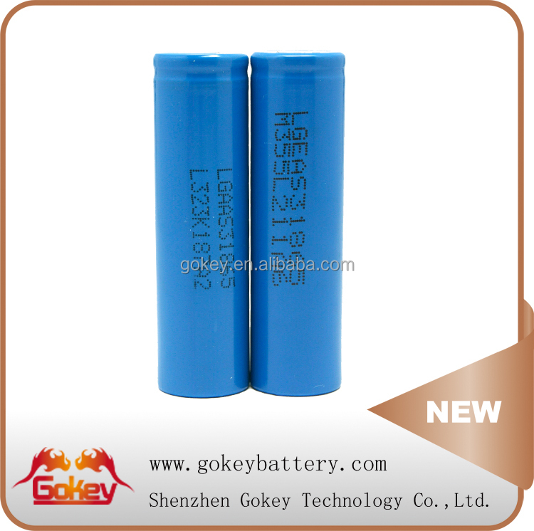 LG LGDAS31865 high discharging 18650 2200mAh 3.7V Li-ion battery