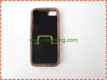 new design wood+pc hard phone case for iphone5 wood stria case for iphone 5