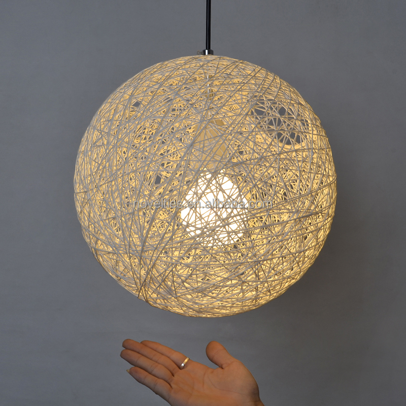Fibre Epoxy Random Pendant Light contemporary classic lighting