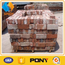 Building wall old reclaimed red brick prices