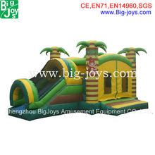 jumping castle inflatable water slide for sale, inflatable jumping castle water slide combo, jumping castle with slide and pool