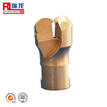 two wings whole piece pdc drill bit for sandstone