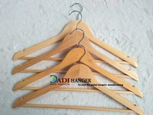 Lowe price Supermarket clothes wooden hanger
