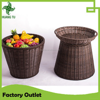 Round Fresh fruit and vegetable stand