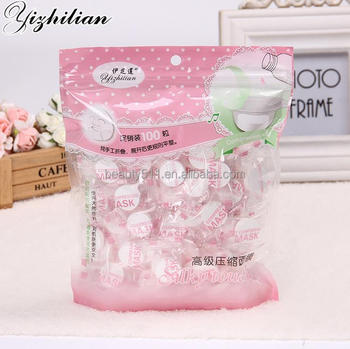 Wholesale 100pc Disposable Candy Moisture replenishment Compressed mask Mask paper