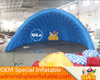 blue shell airtight used party tents for hot sales