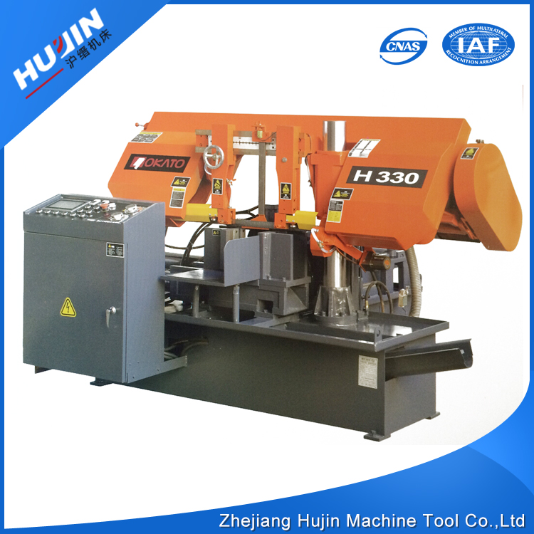 Latest Design CNC Semi Automatic Hack Saw Machine for Cutting Metal