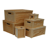 Hot New Products Large Unfinished Wooden Box