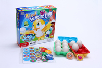 new design play game ABS creative kids egg toys with EN71