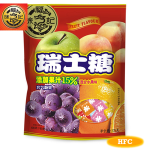 HFC New Year Package 7180 Fruit juice soft candy