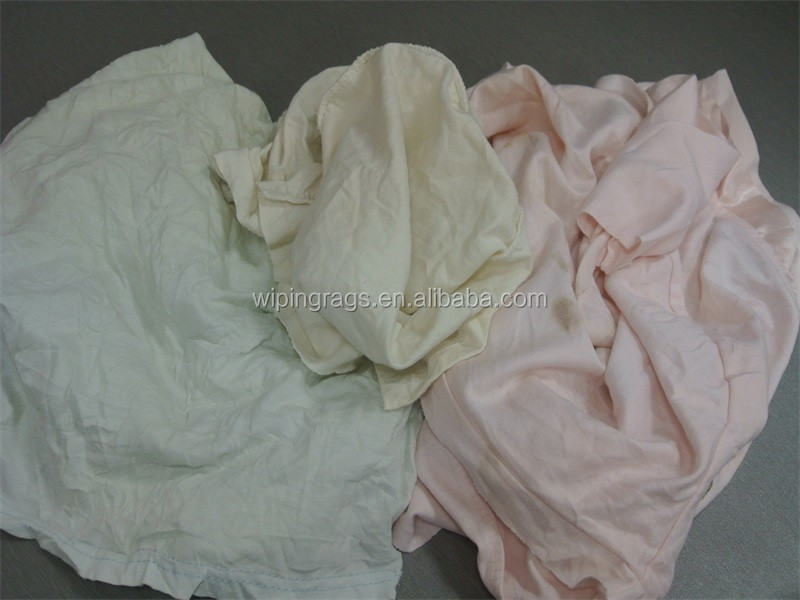 Light color cotton mixed wiper cloth
