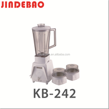 Hot Sale Cheap Price Plastic Jar 3 in 1 Kitchen Electric Food & Fruit Mixer Blender