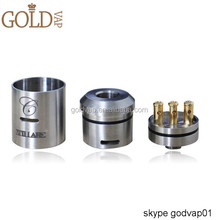 Top sale stillare clone atomizer/quasar with stainless stingray mechanical mod