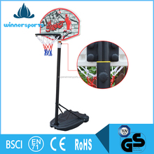 Children Kids Mini Steel Basketball Hoop Stands With Rim and Net