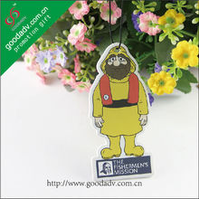 GOODADV company professional car air fresheners for advertising giveaway