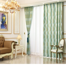 Elegant Curtains Polyester Sheer Window Curtains for Bedroom