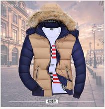 China Factory Custom Service Men Winter Super Warm Fur Hooded Puffer Jacket