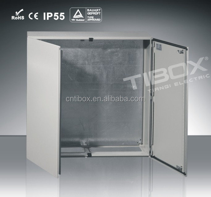 TIBOX 2016 industrial power distribution metal wall mount control panel board enclosed boxes