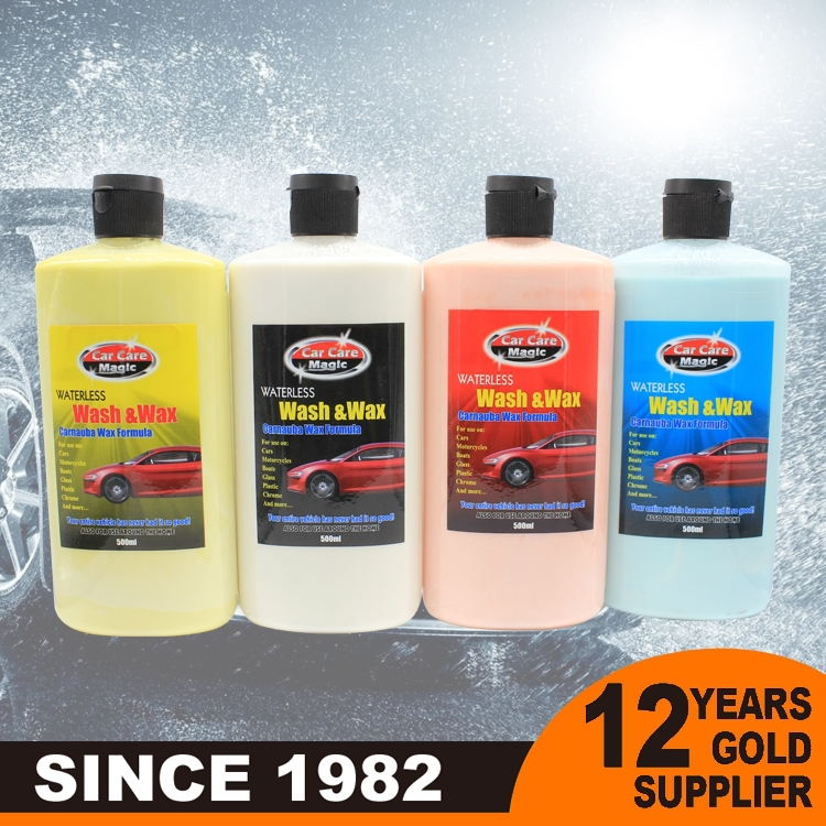 Paint protection 500ML waterless silicone car wash car polish wax