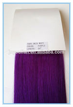 New arrival Brazilian virgin hair purple Skin weft pu/glue wefts,100% human remy hair extensions