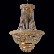 Royal Empire Chandelier Cristal Chandeliers Golden Crystal Pendant Hanging Lamp Light Lighting CZ6573G/500