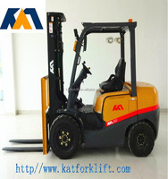 Material handling equipment, 2.5ton gasoline forklift truck with Nissan K25 engine