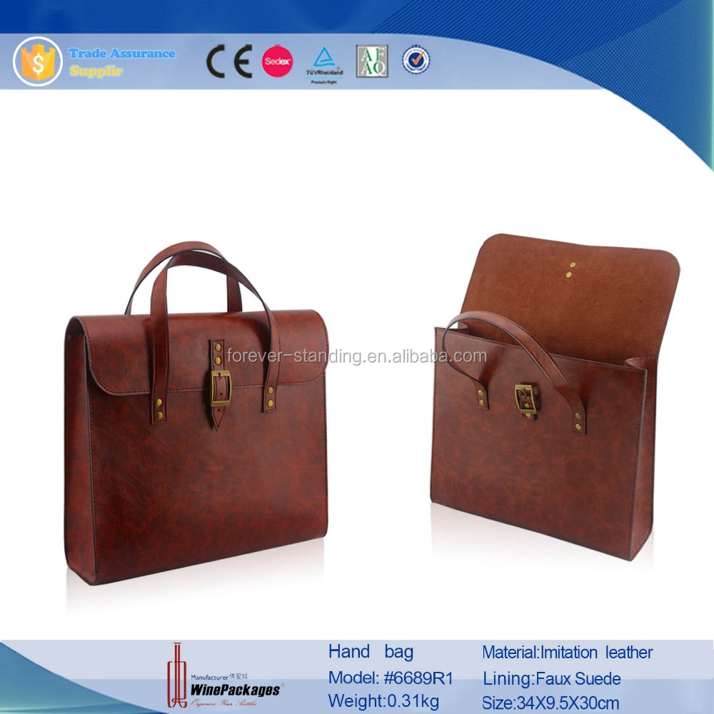 Good Quality leather Made custom made computer laptop sleeve bag