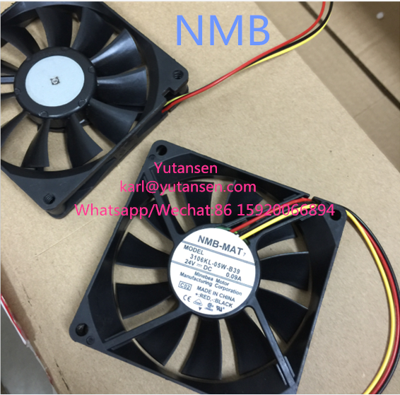(Original New) 2408NL-04W-B39-P00 2408NL-04W-B39 NMB 12V 60x60x20mm Cooling fan supplier