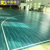 Excellent pvc wood like basketball floor
