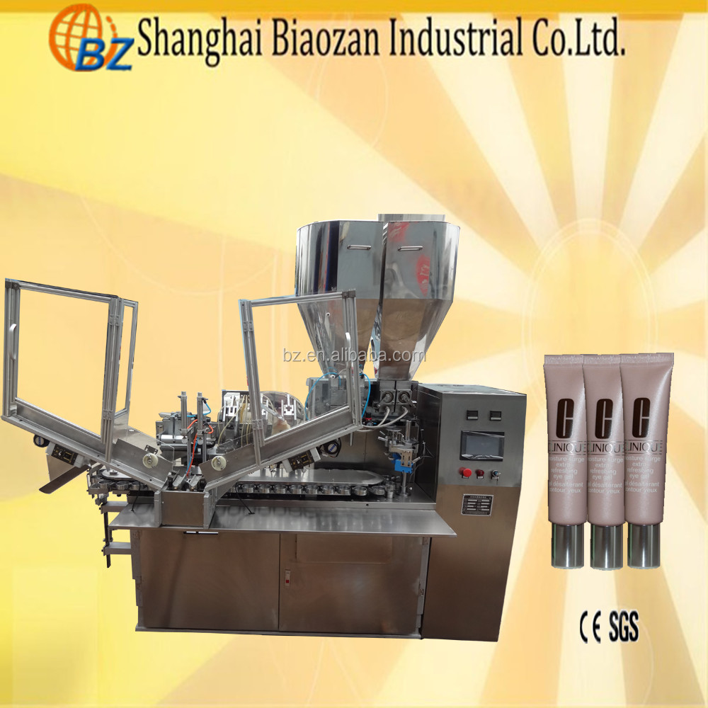pharmaceutical ointment filling machine soft tube filling and sealing equipment