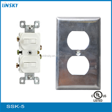 American Type Wall Socket Toggle Switch with UL Approval