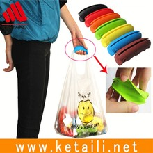 easy carrier shopping silicone grocery bag holder