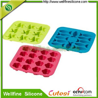 New design high quality silicone ice cube tray
