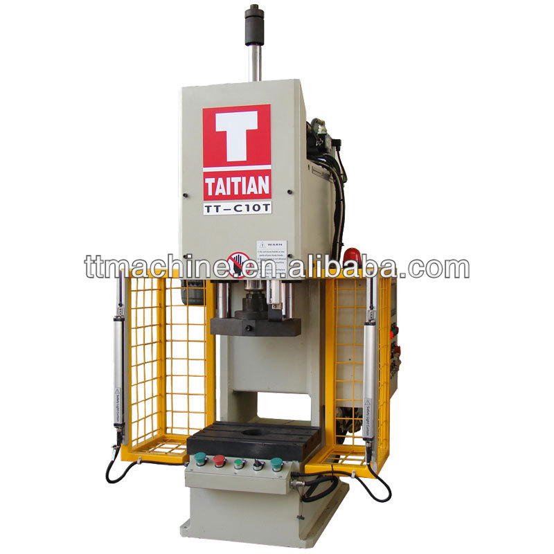 C frame mini tablet punch press machine 10T
