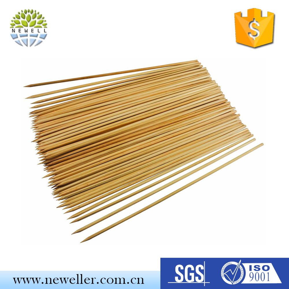 Wholesale goat meat gun bbq bamboo skewer with A quality Grade