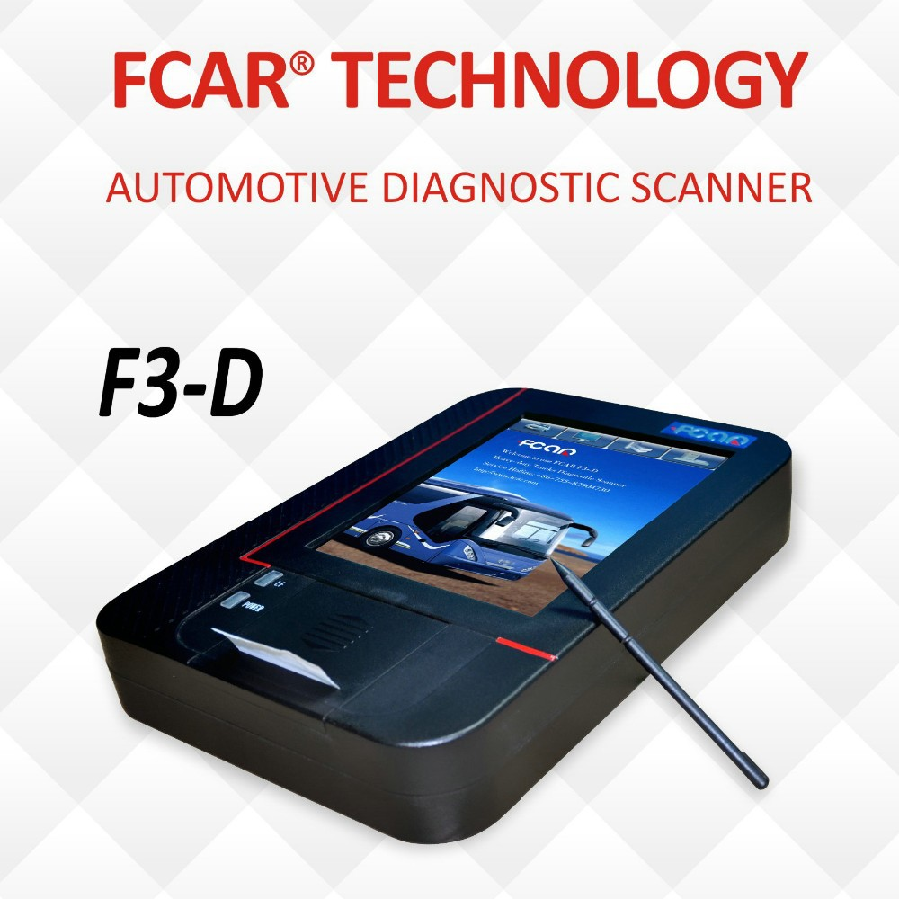 Fcar High quality Truck Diagnostic Tool Durable F3-D 24V Heavy Duty Scan Tools