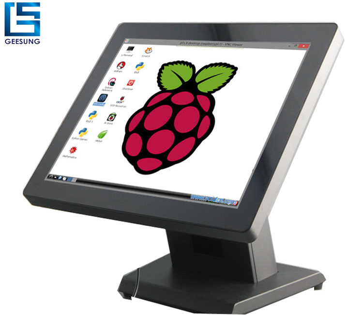 15 17 inch All in one Raspberry pi3 touch screen monitor