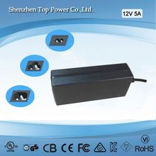 power supply modules 60W desk top switching power adapter dc 24V power supply 12V 5A UL CE CUL KC SAA