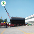 10T Used oil recycling plant waste engine oil distillation machine with no pollution