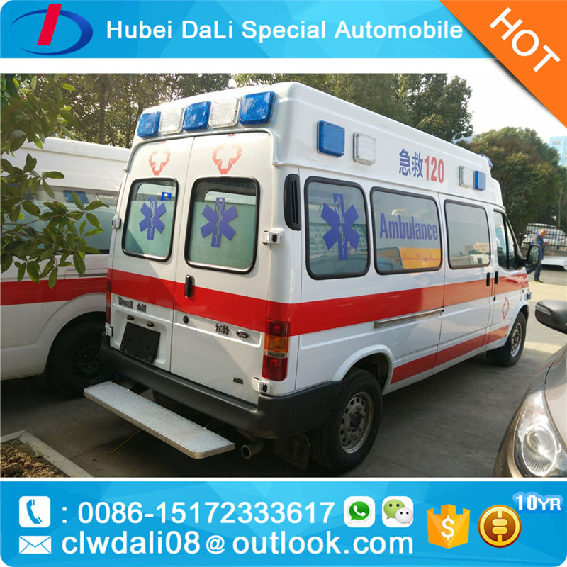 2017 ambulance with equipment