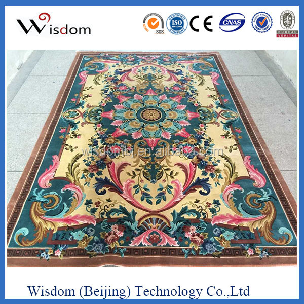 Chinese manufacturer of hand tufted carved wool rug