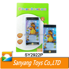 Russian language baby smart touch screen phone toy