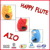 2016 happy flute cute bamboo charcoal insert pocket cloth diaper