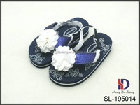 flowers EVA baby cute sandals dress shoes for girls