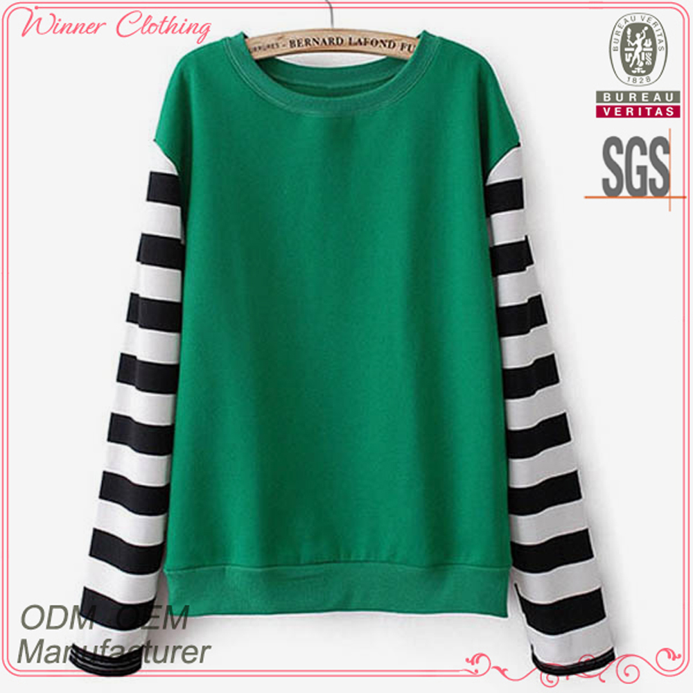 2016 New arrival long sleeves round colar latest designs fashion cutting middle age women blouse