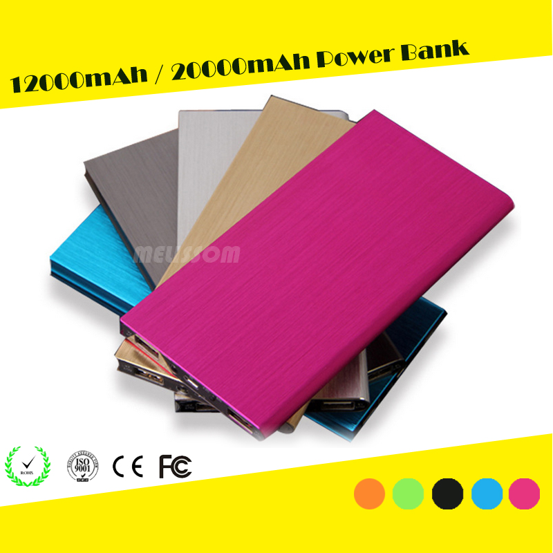 (Low Price) 12000mAh Power Bank for iPhone/Android, Portable Power Bank 12000mAh, Wholesale Mobile Phone Charger 12000mAh