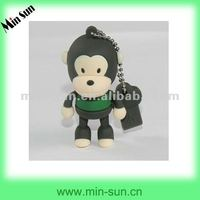2012 The hot selling silicone keyrings promotional made in China