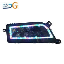 hottest RGB RZR1000 halo led headlight multi color housing head light led lamp for ATV