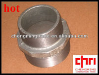 Galvanised Malleable Iron Hexagon Reducing Nipple NPT