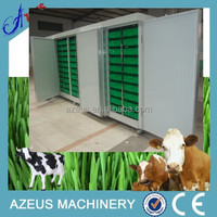 hydroponic grass feed sprouting system for horse,lamb,goats,sheep,poultry,livestock,animal